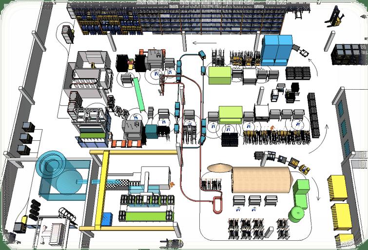 3D Layout - vizualizace